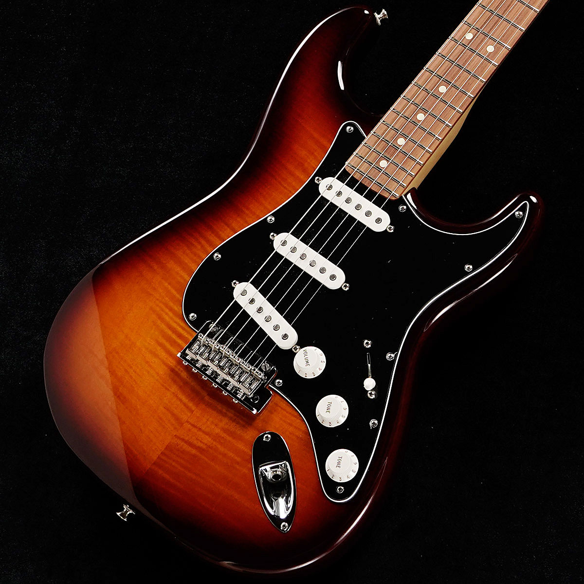 【楽天ランキング1位】 Fender/ HSS Player Series Stratocaster HSS Pau Plus Top Tobacco Fender Burst Pau Ferro フェンダー【御茶ノ水本店】, まいどドラッグ:9499bdb3 --- claudiocuoco.com.br