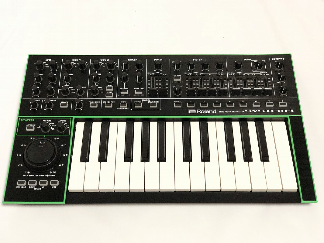 Roland ローランド / SYSTEM-1 PLUG-OUT シンセサイザー AIRA SYSTEM1【展示品特価!】【渋谷店】