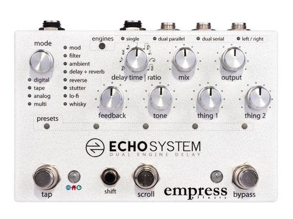 EMPRESS EFFECTS / Echosystem Dual Engine Delay エンプレス【御茶ノ水本店】