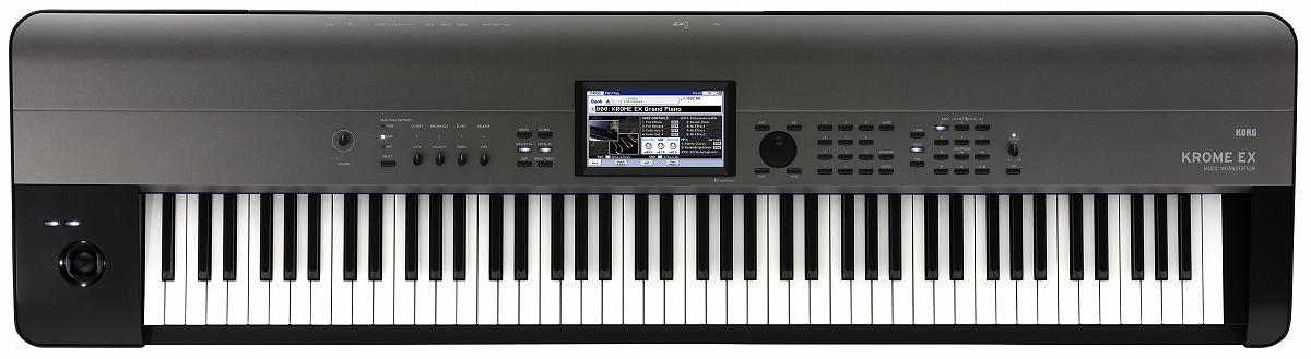 KORG コルグ / KROME 88EX 88鍵盤 ワークステーションシンセサイザー【御茶ノ水本店】
