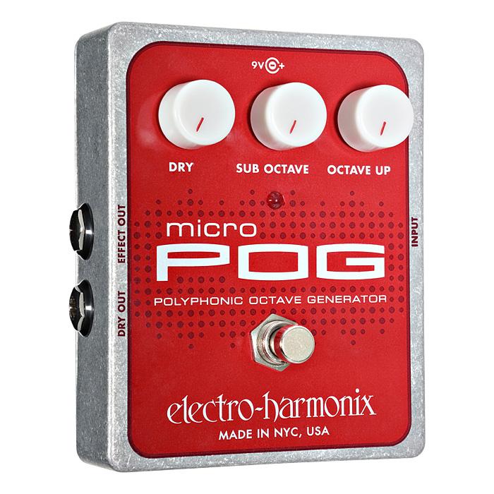 Electro Harmonix / Micro POG [ポリフォニック・オクターブ・ジェネレーター]【渋谷店】