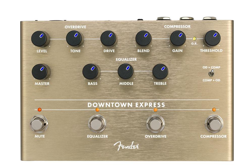 FENDER / Downtown Express Bass Multi-Effect Pedal ベース用 マルチエフェクト【御茶ノ水本店】