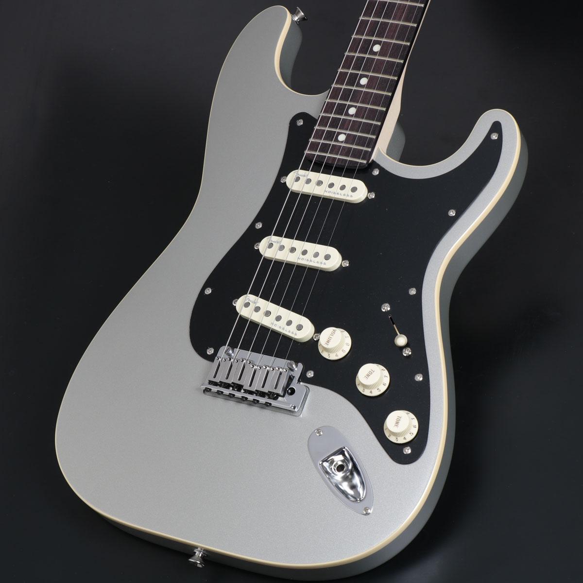 【訳あり】 Fender Silver/ Inca Made in Japan Modern Stratocaster in Rosewood Fingerboard Inca Silver フェンダー【新品特価】《お値段見直しました!》【御茶ノ水本店】, Jam:6f5dfbd7 --- promilahcn.com