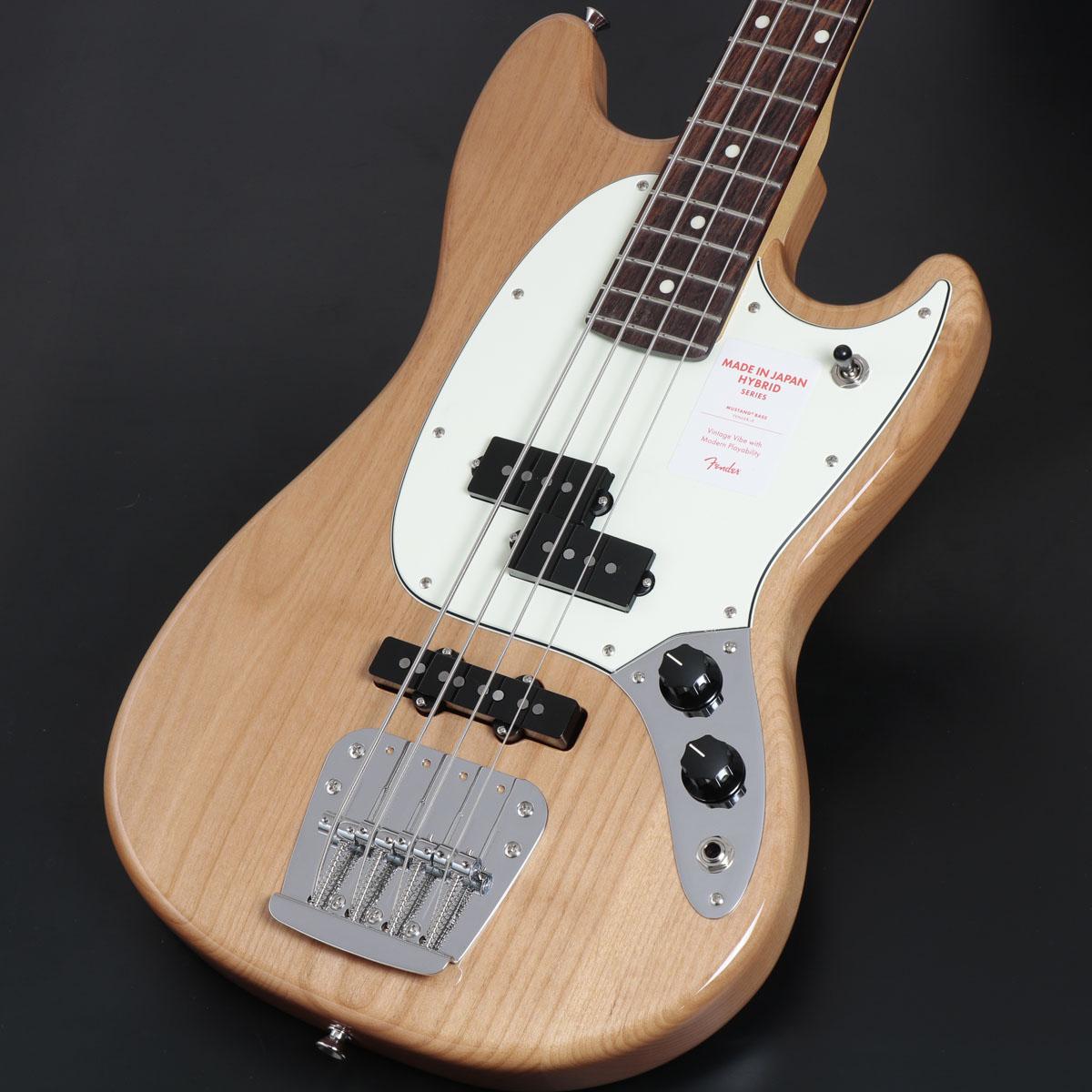 Fender / Made in Japan Hybrid Mustang Bass Natural【御茶ノ水本店】