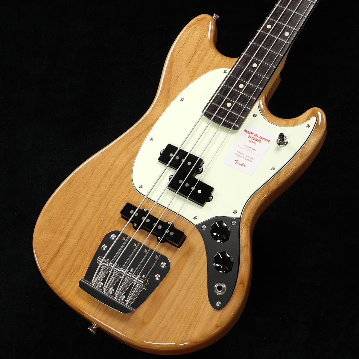 Fender / Made in Japan Hybrid Mustang Bass Natural【渋谷店】