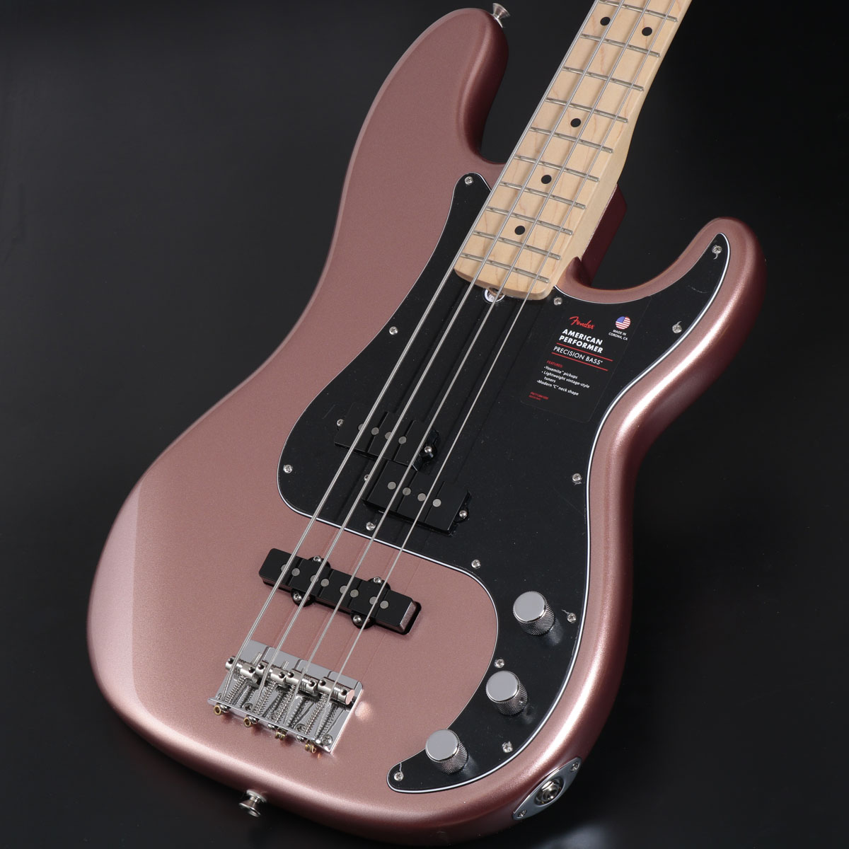 Fender USA / American Performer Precision Bass Maple Fingerboard Penny フェンダー【御茶ノ水本店】