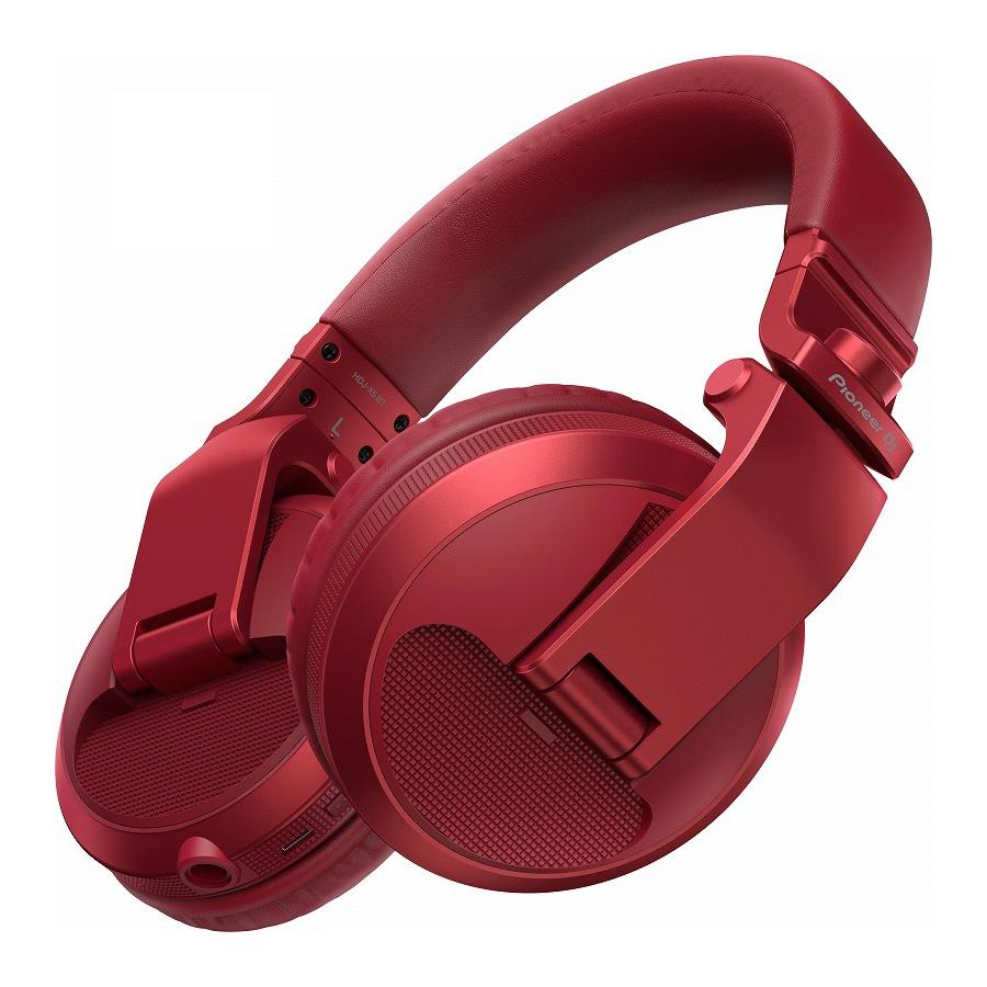 <title>HDJ-X5 をベースにワイヤレス機能を搭載 Pioneer HDJ-X5BT-R メタリックレッド ワイヤレスDJヘッドホン 品質保証 お取り寄せ商品 渋谷店</title>