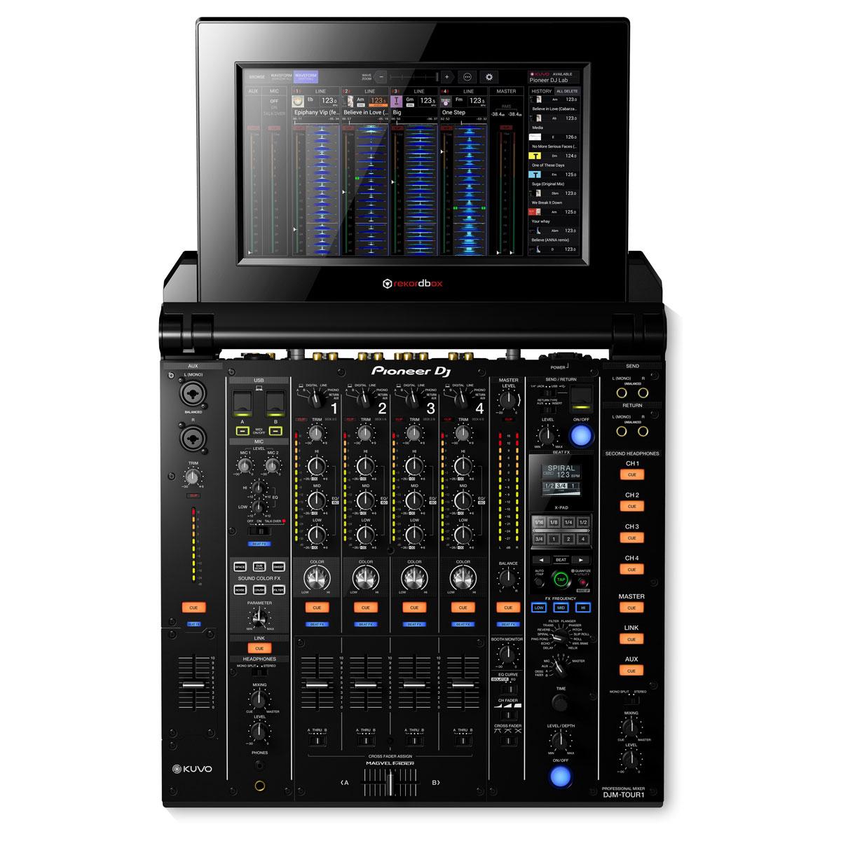 Pioneer DJ / DJM-TOUR1 DJ用ミキサー【SCRATCH音ネタ入りUSBメモリーサービス!】【お取り寄せ商品】【渋谷店】