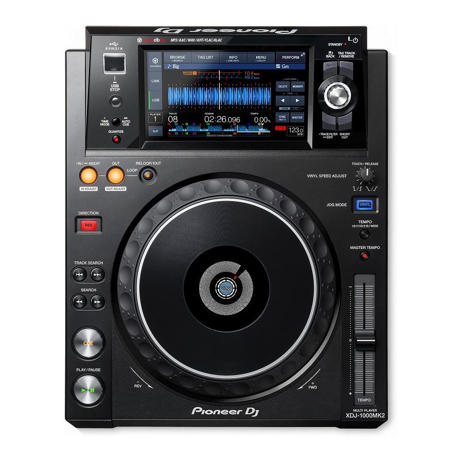 タッチパネルを使った選曲機能を新たに搭載したマルチプレーヤー Pioneer DJ 国内正規品 XDJ-1000 MK2 DJ用マルチプレーヤー 渋谷店 SCRATCH音ネタ入りUSBメモリーサービス お取り寄せ商品 お得クーポン発行中