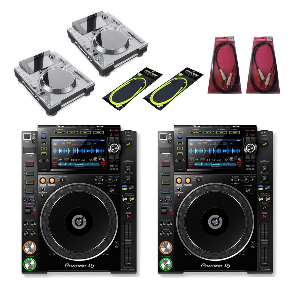 Pioneer DJ / CDJ-2000NXS2 TWIN SET【豪華4大特典付き!】【お取り寄せ商品】【渋谷店】
