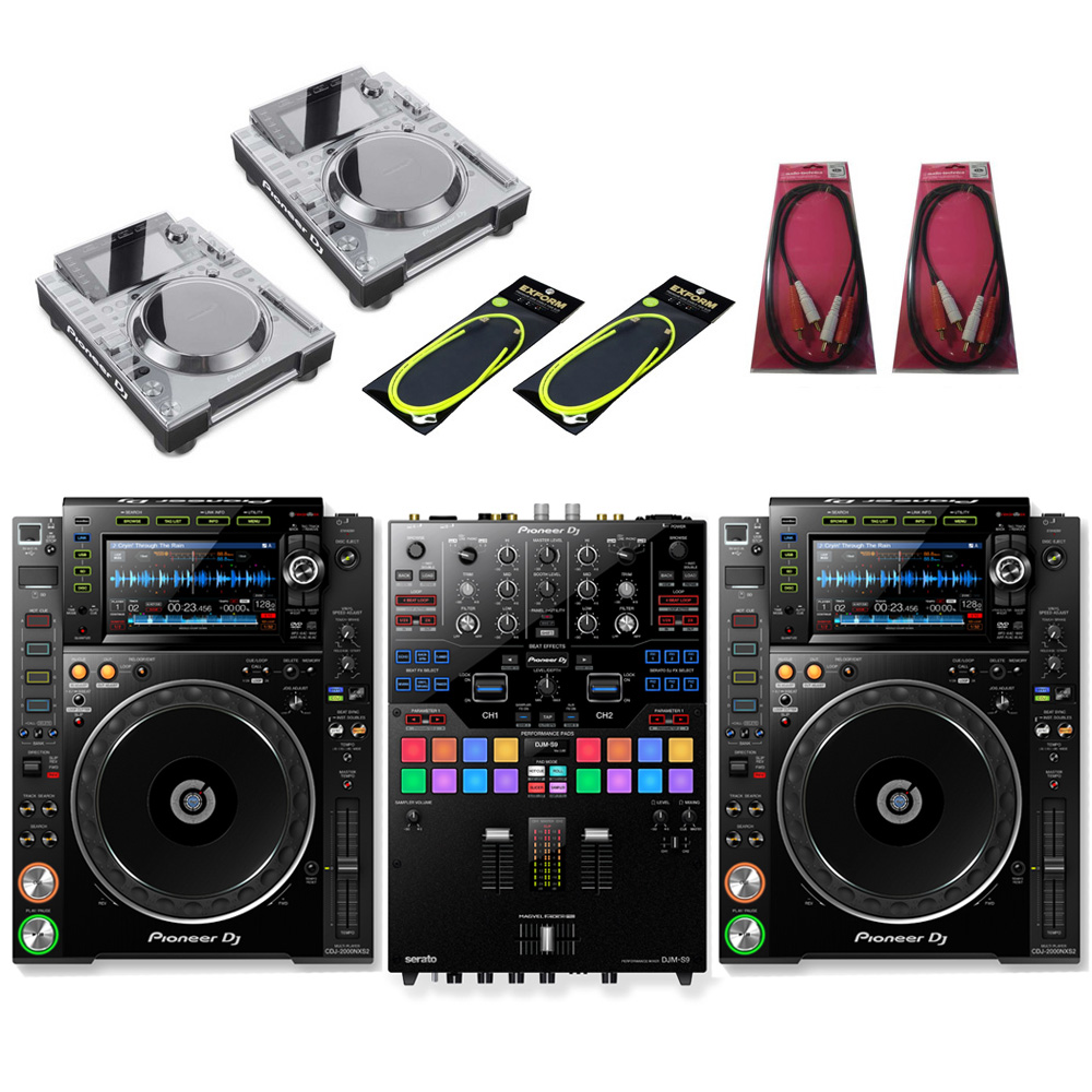Pioneer DJ / CDJ-2000NXS2×DJM-S9 SET【豪華4大特典付き!】【お取り寄せ商品】【渋谷店】