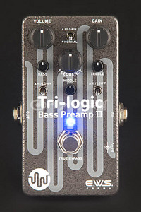 E.W.S. / Tri-logic Bass Preamp 3 ベース用プリアンプ/オーバードライブ【御茶ノ水本店】