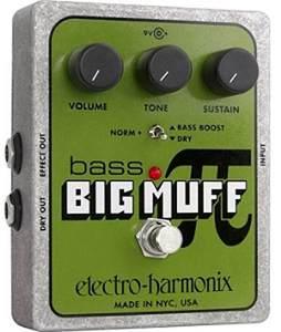 electro-harmonix / BASS BIG MUFF π ベースディストーション【御茶ノ水本店】