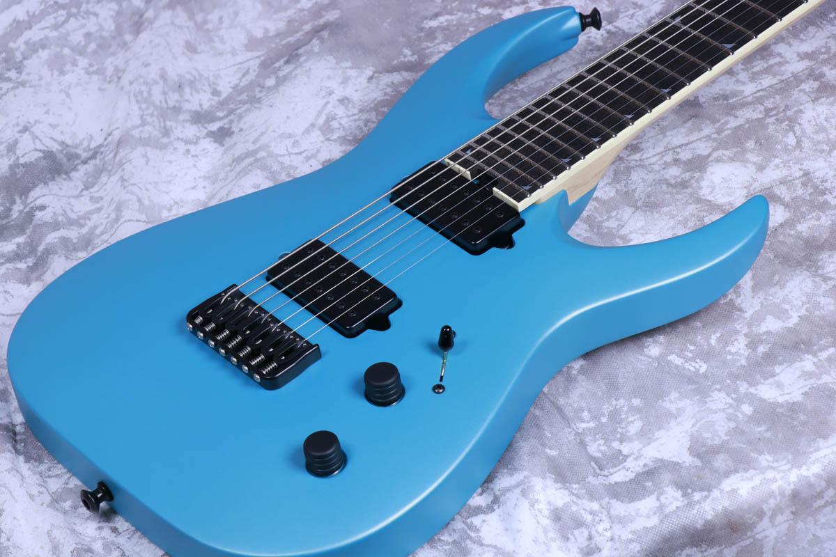 Jackson Custom Shop / Misha Mansoor Juggernaut HT7 Matte Blue Frost 【S/N JMM1410014】【御茶ノ水本店】