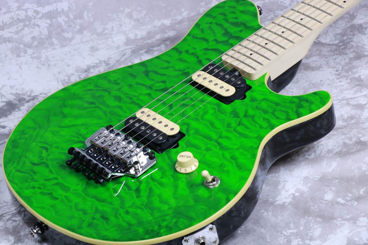 Sterling by MUSIC MAN / AX40D Translucent Green 【特価商品】【御茶ノ水本店】