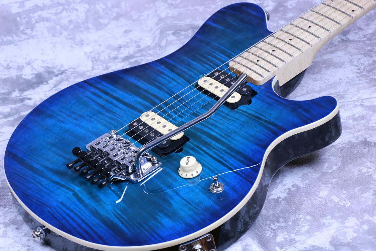MUSIC MAN / AXIS Balboa Blue Burst Flame MAPLE FINGERBOARD ミュージックマン【S/N G74555】【御茶ノ水本店】