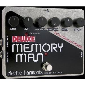 electro-harmonix / Deluxe Memory Man Analog Delay/Chorus/Vibrato【正規輸入品】【御茶ノ水本店】