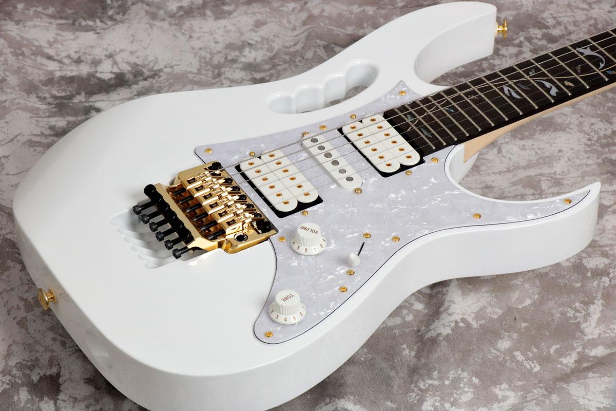 Ibanez アイバニーズ / Steve Vai Signature Series JEM7V White 【御茶ノ水本店】