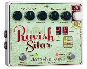 Electro-Harmonix / Ravish Sitar【シタール・シミュレーター】【御茶ノ水本店】