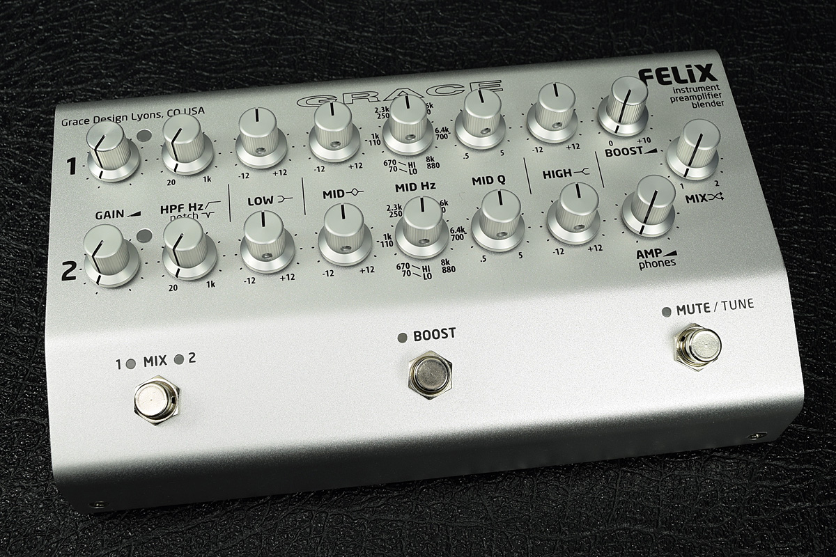 Grace design / FELiX 2ch Instrument Preamp / Blender / EQ /DI 【新宿店】