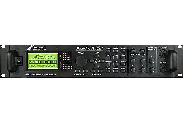 FRACTAL AUDIO SYSTEMS / AXE-FX II XL PLUS【Focusrite scarlett solo オーディオインターフェースプレゼント!】【御茶ノ水本店】