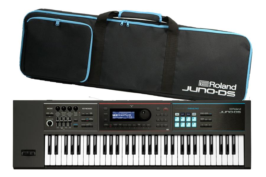 Roland /JUNO-DS61 《即納OK!》【御茶ノ水本店SOUTH】《背負えるケース付:811115400》