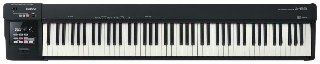超高品質で人気の Roland ローランド / A-88 88鍵MIDIキーボード【御茶ノ水本店】, on-device 0e1aba3d