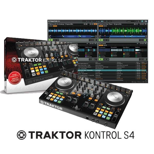 Native Instruments ネイティブインストゥルメンツ / TRAKTOR KONTROL S4 MK2 DJコントローラー【御茶ノ水本店】