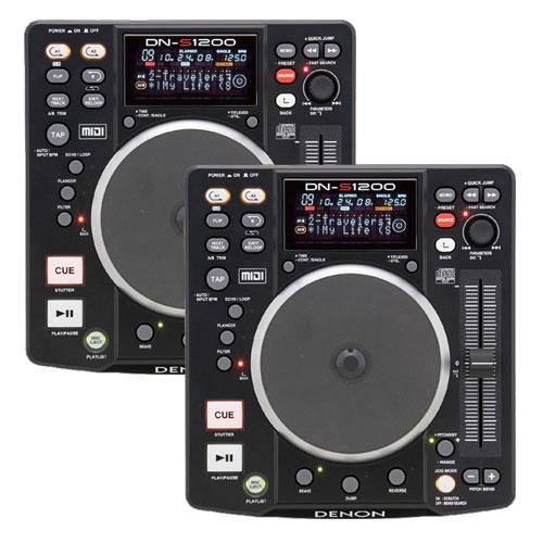 DENON デノン DN-S1200 2台セット《DN-HP500 DJヘッドホンサービス》《2大特典つき》【御茶ノ水本店】【smtg0401】