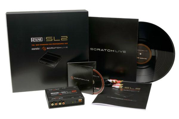 Rane / SL2 for Serato Scratch Live《教則DVD or ラップトップスタンドプレゼント》【国内正規輸入代理店の2年保証付き!】【御茶ノ水本店】【smtg0401】