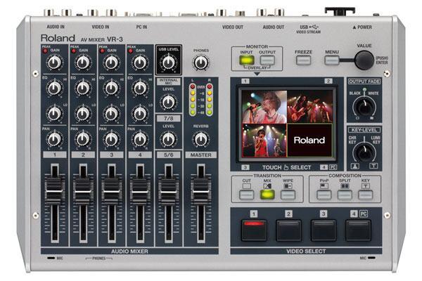 【新品】Roland ローランド VR-3 AV Mixer【御茶ノ水本店】【smtg0401】