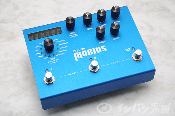 STRYMON / ストライモン Mobius MOD unit with MIDI Preset【御茶ノ水本店】