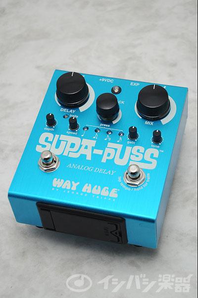 Way Huge Electronics / ウェイヒュージエレクトロニクス WH-707 SUPA-PUSS Analog Delay【御茶ノ水本店】