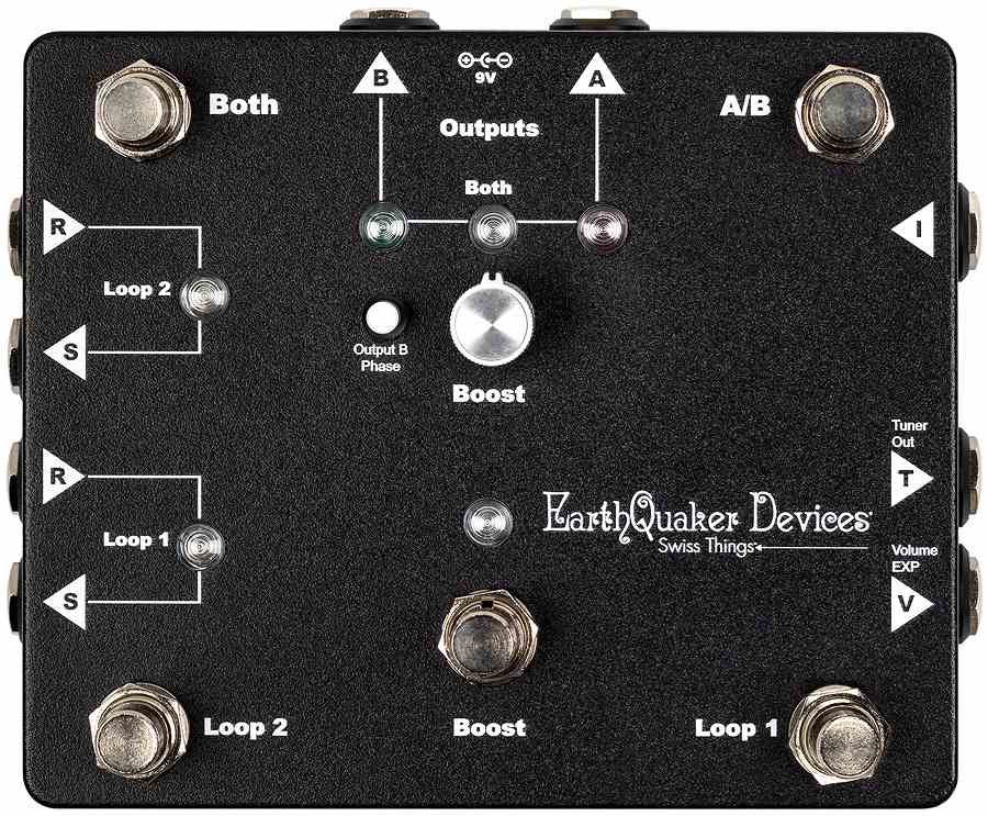 EarthQuaker Devices / Swiss Things ループスイッチャー【御茶ノ水本店】