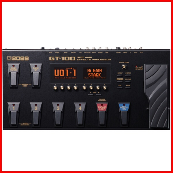 BOSS / ボス【最新Ver.2】COSM Amp Effects Processor GT-100 GT100 マルチ エフェクター【御茶ノ水本店】