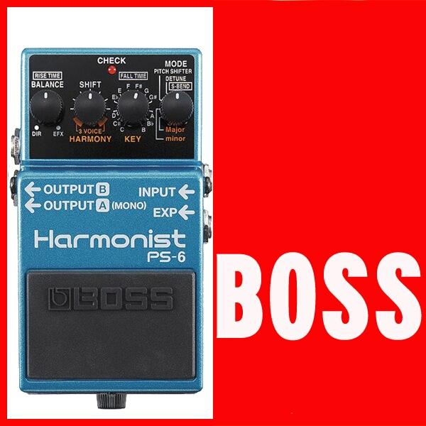 BOSS / ボス PS-6 Harmonist PS6【ピッチシフター】【御茶ノ水本店】