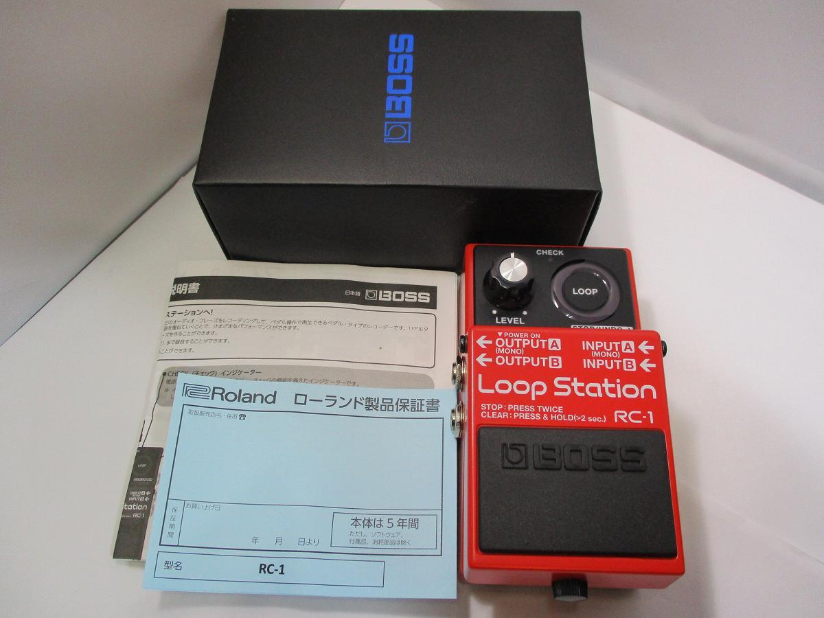 BOSS RC-1 BOSS Loop Loop Station≪美品!使用感少!≫ RC-1【御茶ノ水本店】, Genufine:d8300c3a --- officewill.xsrv.jp