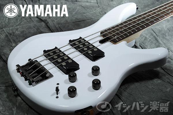 YAMAHA / TRBX304 White (WH) 【エレキベース】【ヤマハ】【御茶ノ水本店】