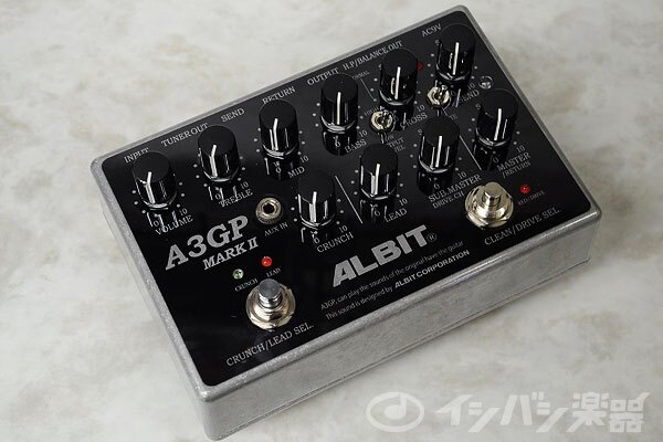 ALBIT / アルビット A3GP MARKギタープリアンプ【御茶ノ水本店】