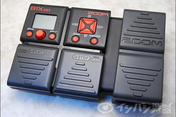 ZOOM ズーム / B1Xon Bass Multi-Effects Processor 【ベース用/マルチエフェクター】【御茶ノ水本店】