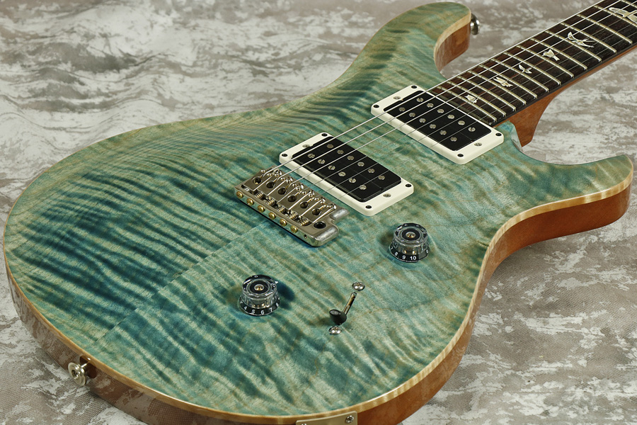 Paul Reed Smith (PRS) / Custom24 10Top Pattern Regular Neck / Aquableux 《S/N 214091》【御茶ノ水本店】