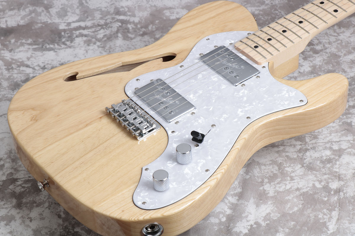 Fender フェンダー/ 2017 Made in Japan Traditional '70 Telecaster Thinline Natural/Maple Fingerboard【御茶ノ水本店】