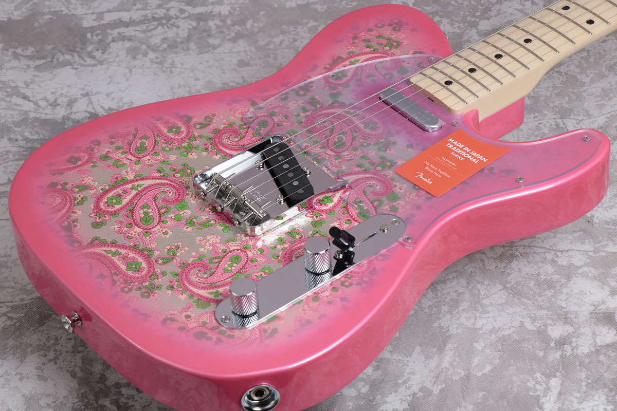 Fender フェンダー/ Made in Japan Traditional 69 Telecaster Maple Fingerboard Pink Paisley【御茶ノ水本店】