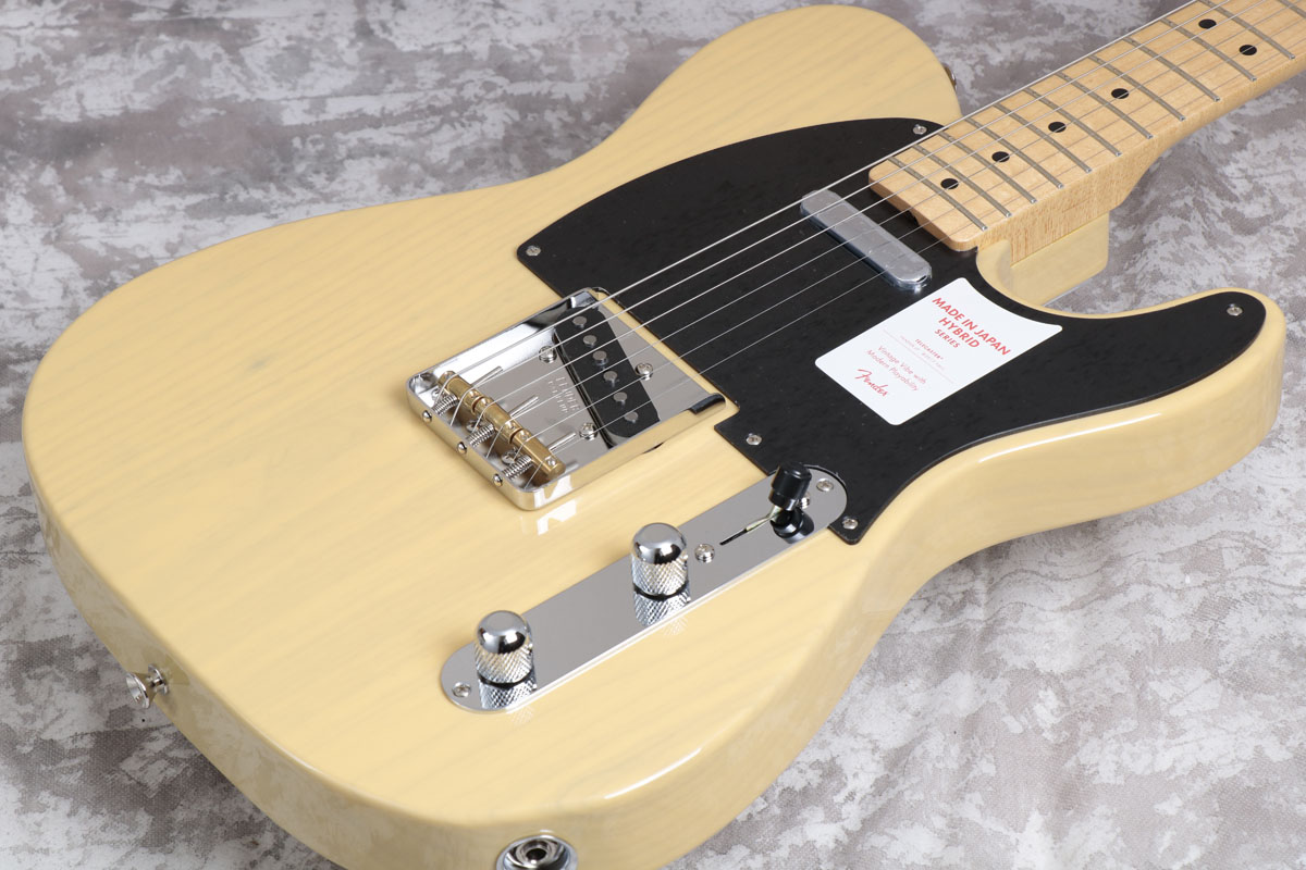 Fender フェンダー/ Made in Japan Hybrid 50s Telecaster Off White Blonde/Maple Fingerboard【御茶ノ水本店】