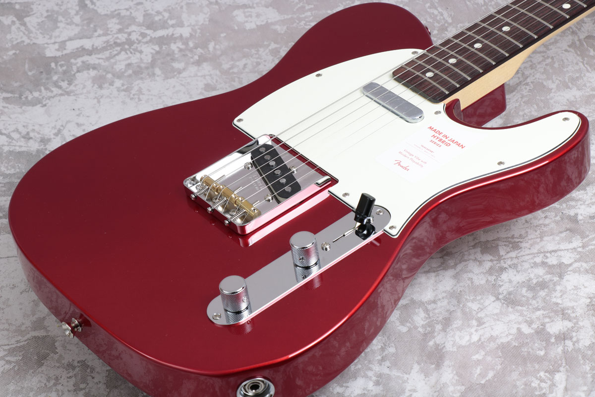 Fender フェンダー/ Made in Japan Hybrid 60s Telecaster Candy Apple Red/Rosewood Fingerboard【御茶ノ水本店】