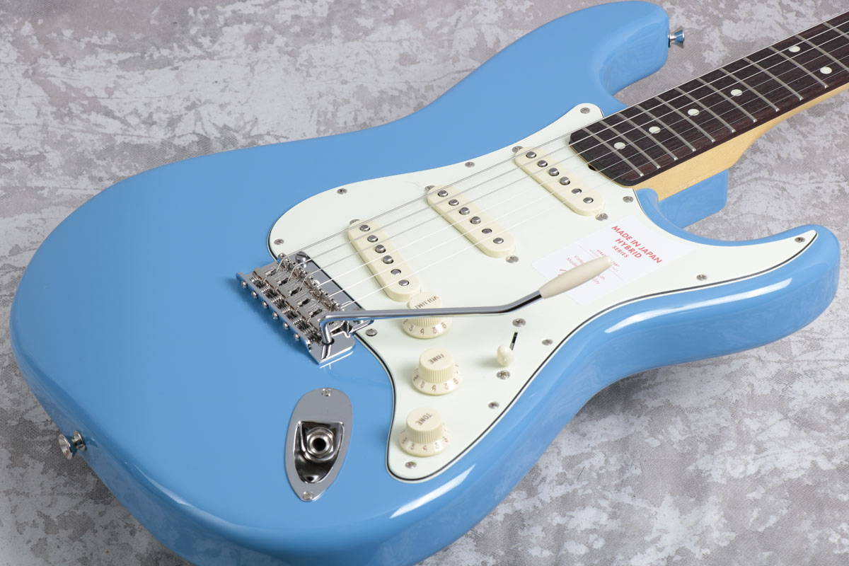 Fender フェンダー/ Made in Japan Hybrid 60s Stratocaster California Blue【御茶ノ水本店】