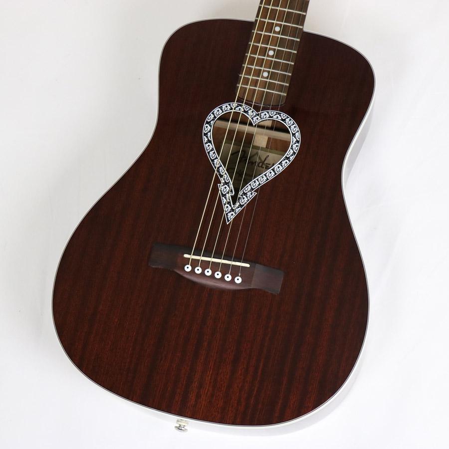 Fender Acoustic / Alkaline Trio Malibu 【フェンダー】【アコースティックギター】【ブラウン】【smtb-u】【名古屋栄店】