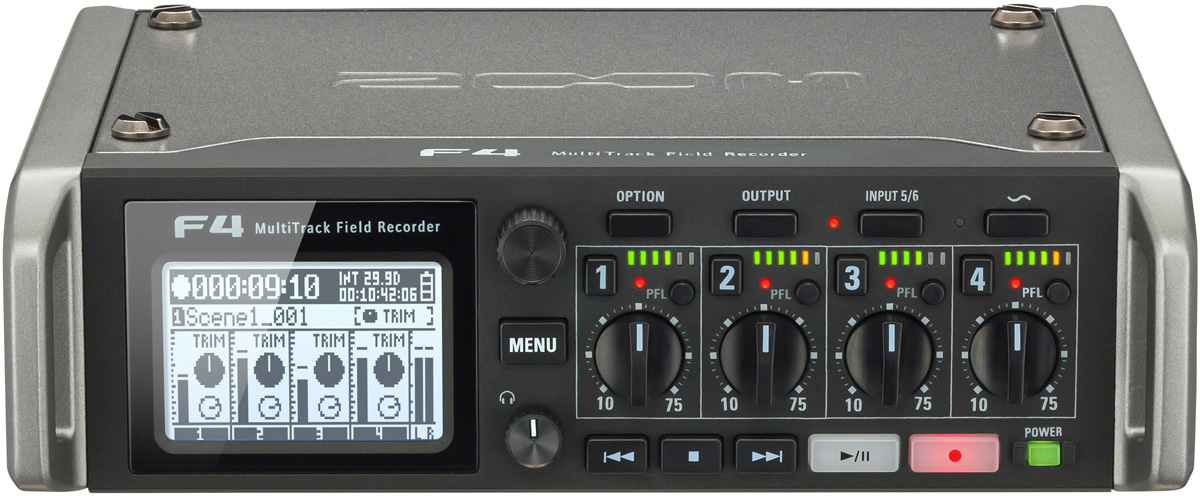 ZOOM ズーム / F4 MultiTrack Field Recorder【お取り寄せ商品】【名古屋栄店】
