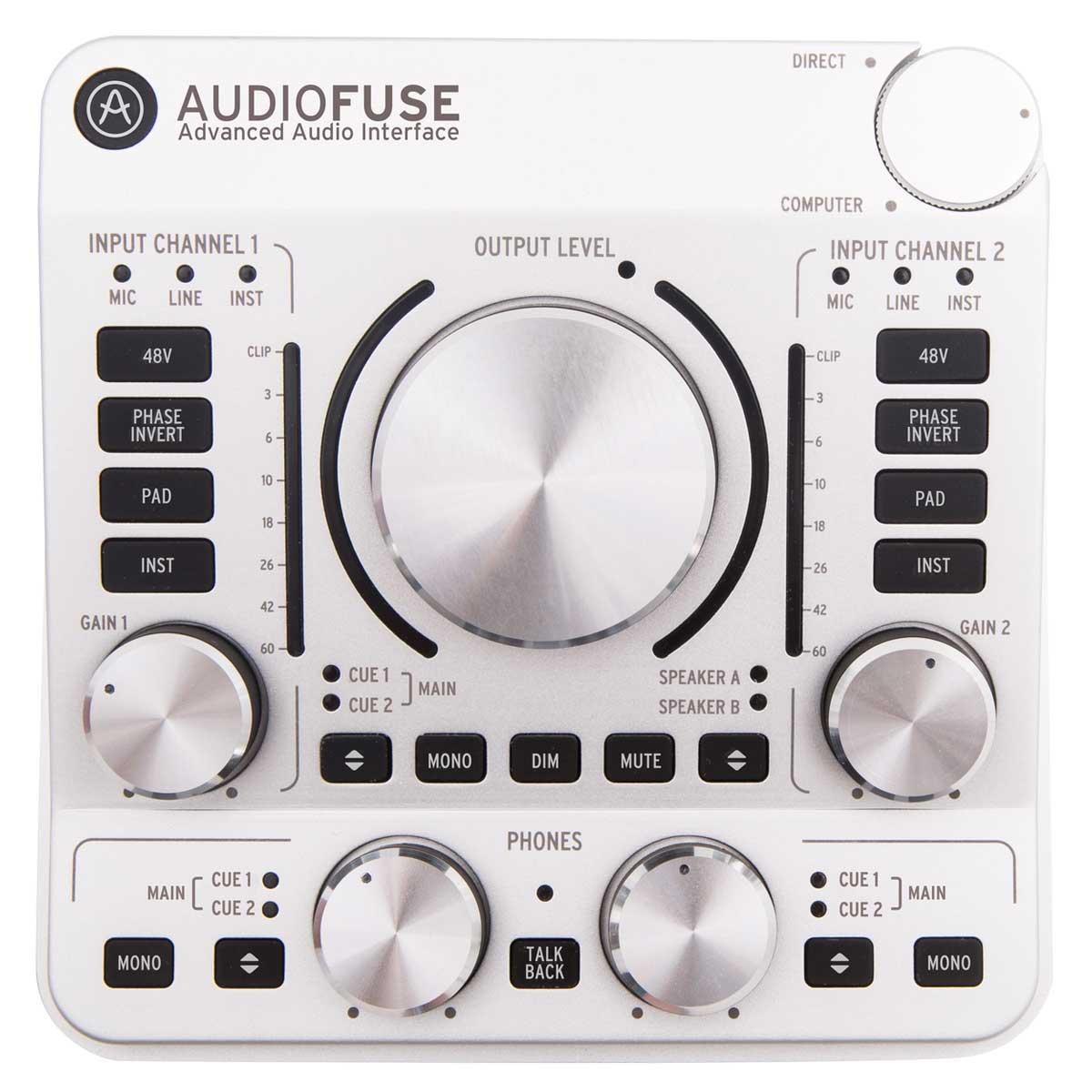Arturia アートリア / ARTURIA Audio Fuse SV オーディオインターフェイス 【お取り寄せ商品】【名古屋栄店】
