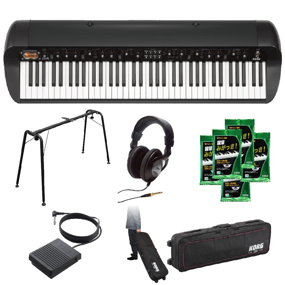 KORG ステージピアノ / SV-1 73BK 基本オプションセット ≪お取り寄せ商品≫【名古屋栄店】(SV1)
